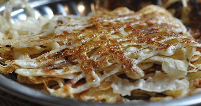 Ажурные узоры на сковородке - кружевные блины, рецепты с фото