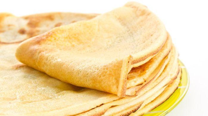 Здоровая и вкусная домашняя выпечка - пшенные блины, рецепты с фото