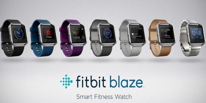 Стильный фитнес: часы-трекер Fitbit Blaze