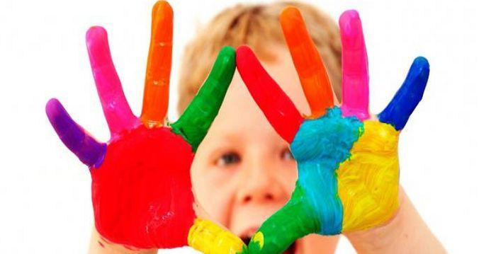 Уроки детского творчества: пальчиковые краски