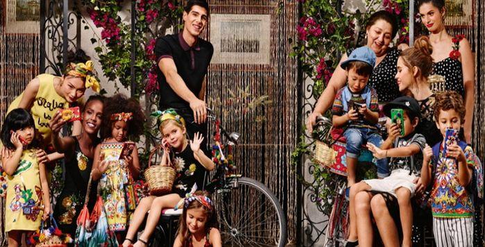 Все цвета радуги: новая коллекция Dolce & Gabbana 2016 для детей