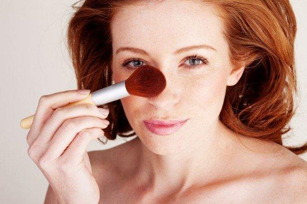 Как сделать нос меньше при помощи макияжа