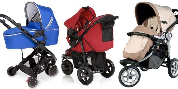 В чем удобство детских трехколесных колясок 3 в 1: обзор трёх моделей