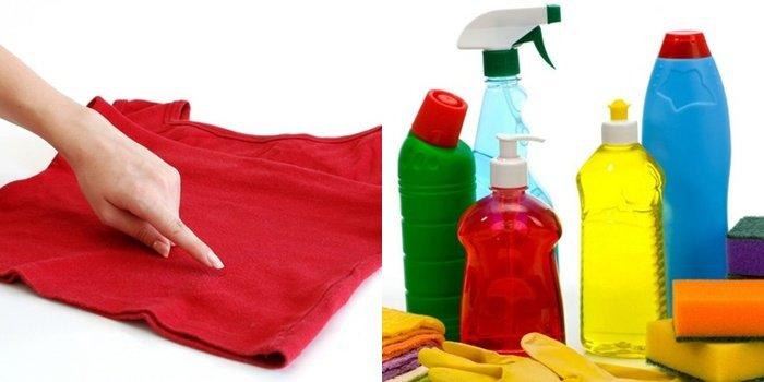 Чем очистить краску с одежды в домашних условиях?