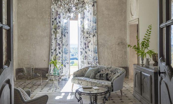 Сад, милый сад: коллекция текстиля и обоев Designers Guild Couture Rose-2016