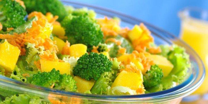 Как приготовить вкусный салат из брокколи?