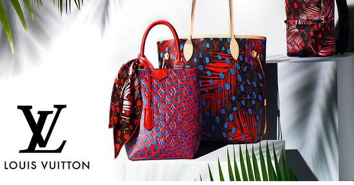 Летняя коллекция аксессуаров Louis Vuitton Tropical Journey 2016