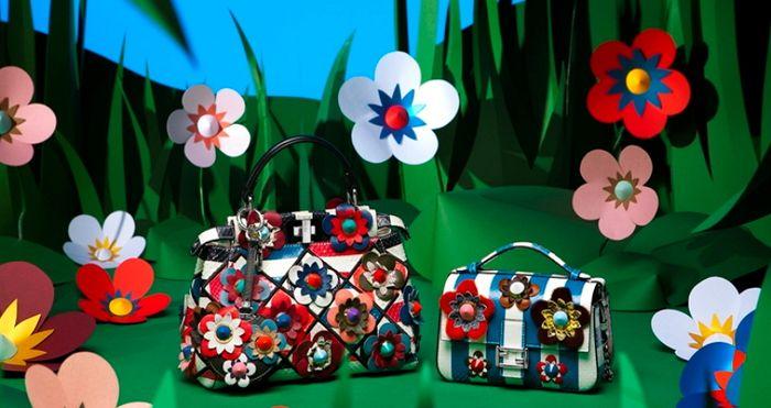 Добро пожаловать в сказку: коллекция Flowerland Fendi S/S 2016