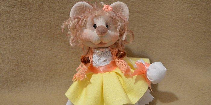 Кукла из капроновых колготок: мастер-класс  с видео и фото