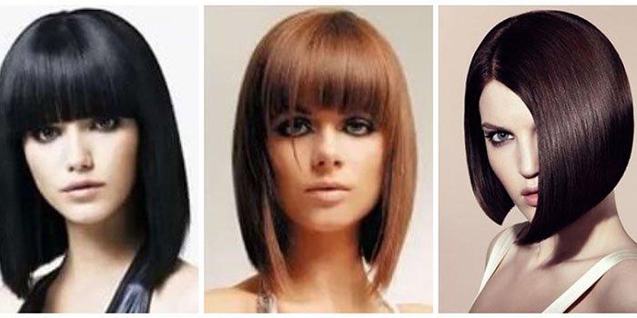 Причёски каре на удлинение - вариации прически с фото