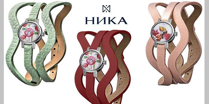 Все краски лета с лимитированной коллекцией часов VIVA FLEUR от НИКИ