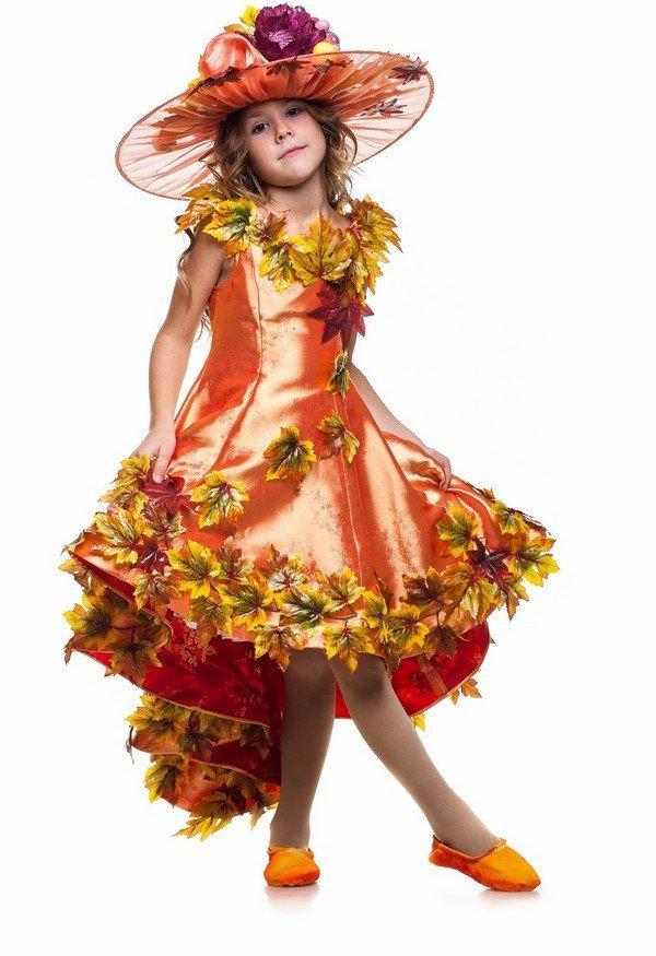 Праздник осени костюмы для девочки своими руками 974