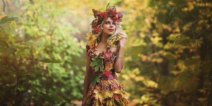 Костюм на Осенний бал своими руками для девочки и мальчика из подручных материалов. Представление и защита осенних костюмов на балу