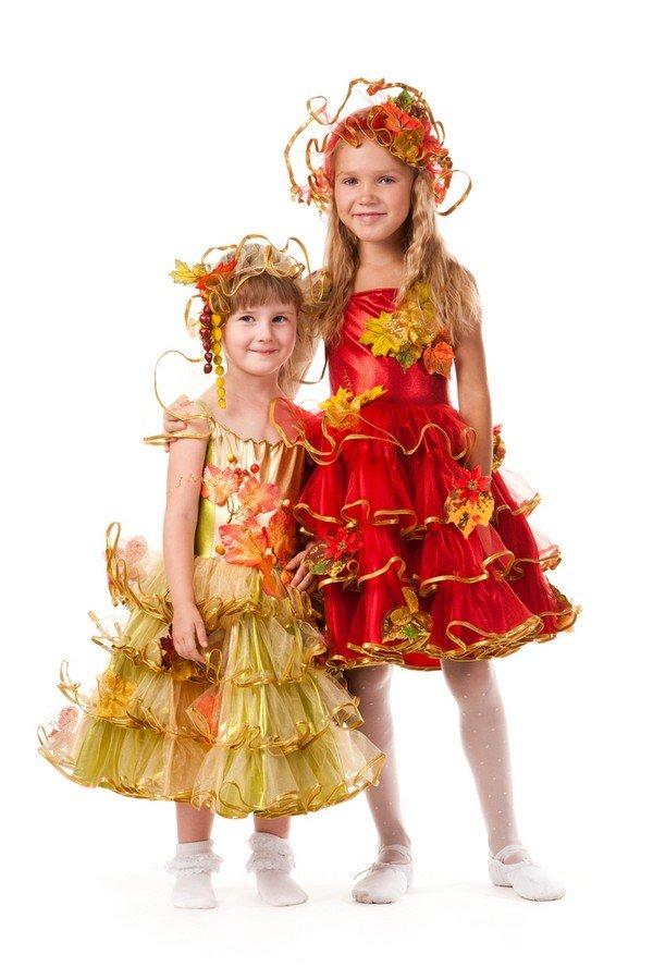 Праздник осени костюмы для девочки своими руками 965