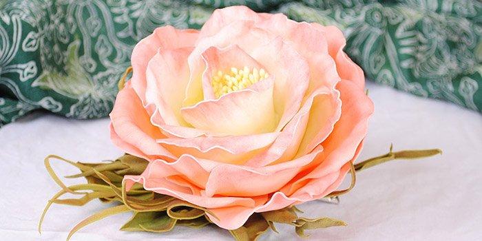 Цветы из фоамирана: астра, гербера, роза