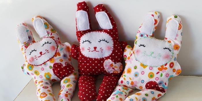 Простые выкройки игрушек из ткани своими руками