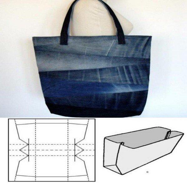 d4a53020aa01 Несложную модель сумки сможет сшить своими руками даже новичок в швейном  деле. Например, эта сумочка может стать хозяйственной, повседневно или  пляжной в ...
