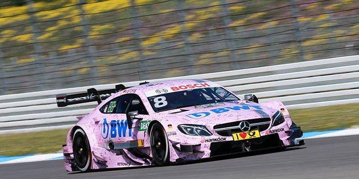 BWT представляет два автомобиля Mercedes-AMG на гонках DTM