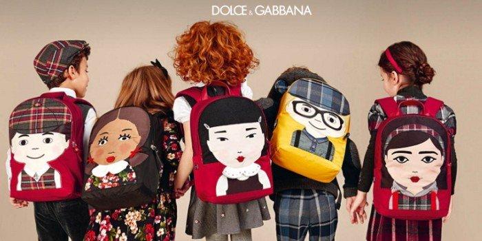 К школе готов: детская коллекция Dolce & Gabbana Back to School