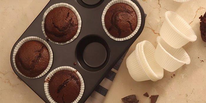 Шоколадные капкейки, самый простой и вкусный рецепт