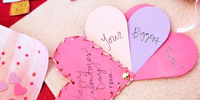 Оригинальные валентинки своими руками из бумаги — мастер-классы с пошаговыми фото и видео. Как сделать объемную валентинку с детьми к 14 февраля