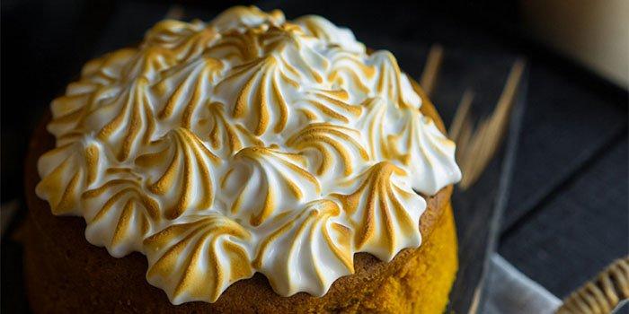 Вкусный рецепт: тыквенный пирог с меренгой