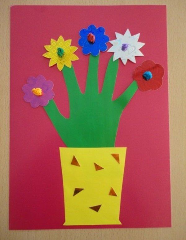 Открытки к 8 марта для средней группы своими руками, лет женщине открытки