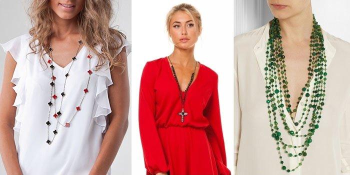 Как подобрать украшения под одежду?