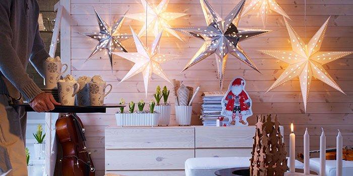 Как стильно украсить квартиру для встречи Нового Года: ТОП-4 идеи