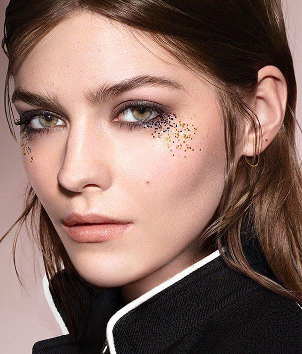Картинки по запросу макияж глиттеры 2017