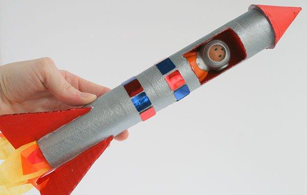Как сделать простую ракету 234
