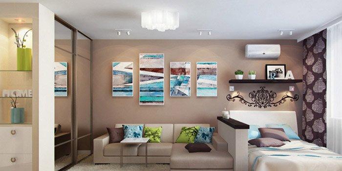 Как обустроить квартиру-студию: три совета от дизайнеров