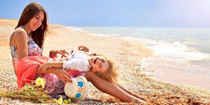 Малыш и море: 3 правила детской акклиматизации
