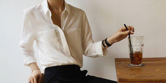 Белая рубашка: где купить, как носить, с чем сочетать