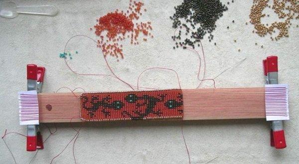 как сделать браслет из бисера для начинающих схемы пошаговые