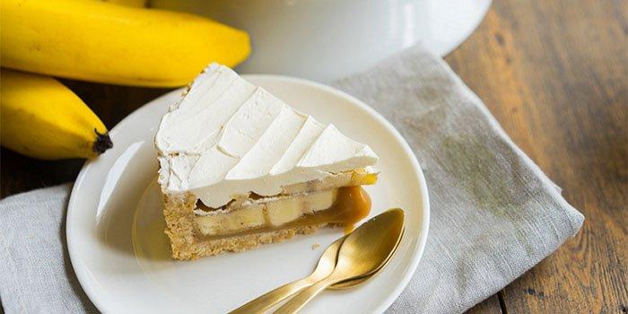 Рецепт banana pie с карамелью и кремом: Ммм.., пища богов