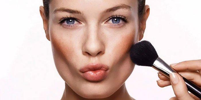 Макияж для разных типов лица: простая инструкция по контурингу