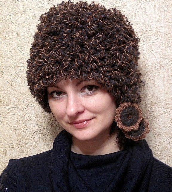 как выбрать идеальную вязаную шапку по типу лица обязательно к