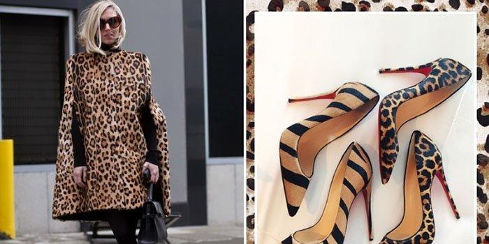 Как носить леопардовый принт после 30 и выглядеть идеально