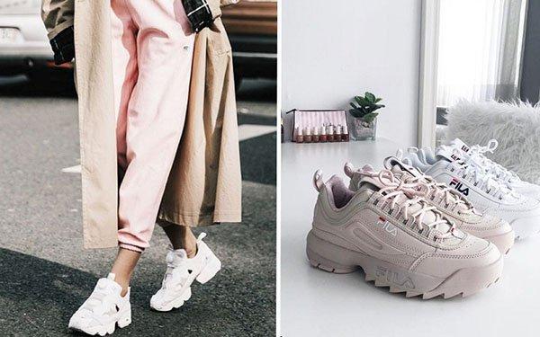 e6cfaa77bb52 Модные кроссовки – тренд 2018  где купить и как носить