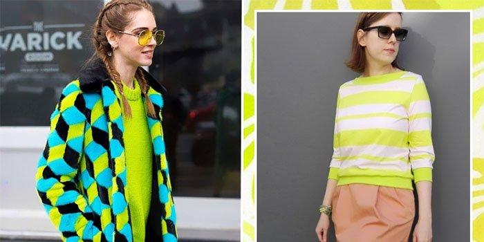 Неоновый лайм – тренд 2018: как стильно носить самый яркий цвет весны