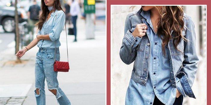 Как стильно носить джинсовые комплекты этой весной: лучшие примеры