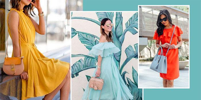 Красивые летние платья 2018: лучшие варианты