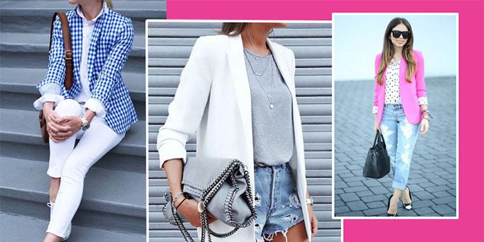 Как носить блейзер летом: актуальные варианты для модниц