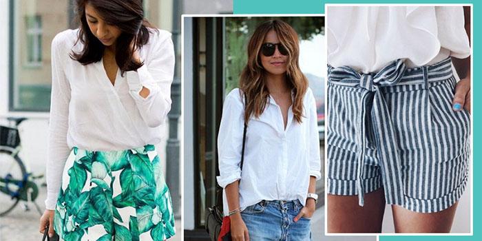 Модные шорты 2018: классные летние образы