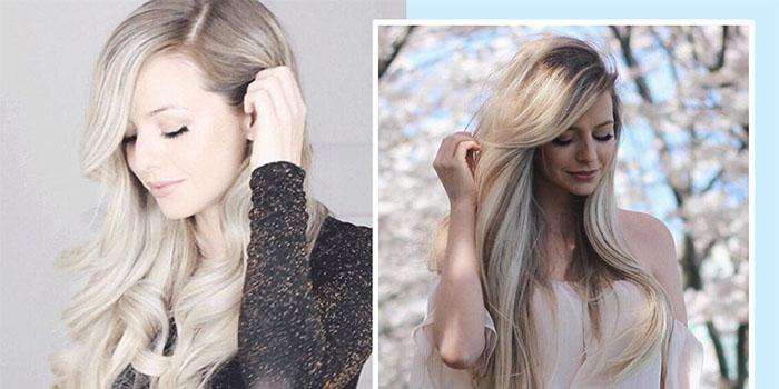 Как сделать салонную укладку для средних и длинных волос