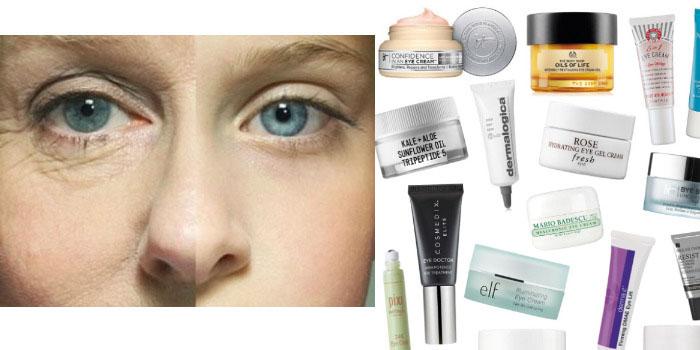 Гусиные лапки вокруг глаз: убираем с помощью макияжа