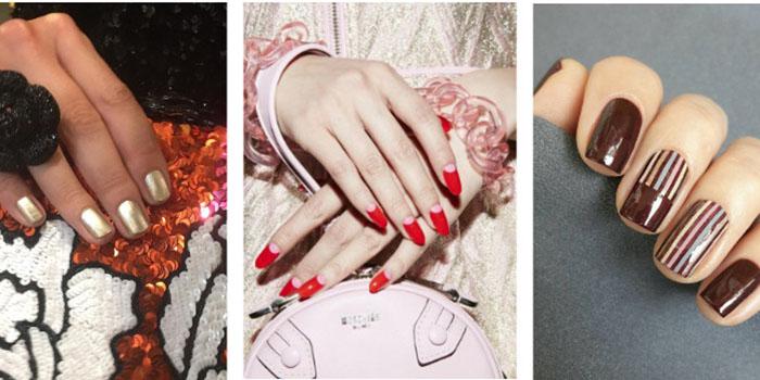 9 стильных трендов в дизайне ногтей: идеи с показов осень-весна 2018
