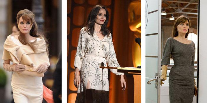 Как скрыть свою худобу? Одеваемся вместе с Анджелиной Джоли