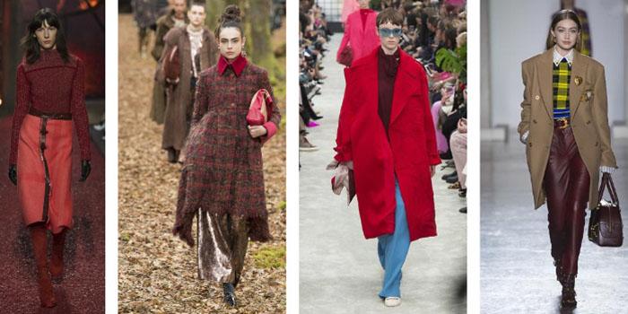 Модный цвет сезона - Red pear. Как удачно использовать?